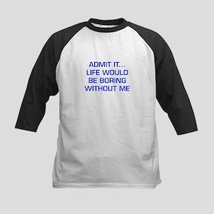 admit-it-EURO-BLUE Baseball Jersey