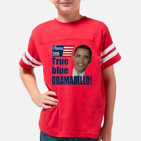 Obamadilloes Youth Football Shirt