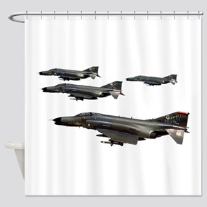F-4 Phantom II Shower Curtain