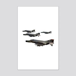 F-4 Phantom II Mini Poster Print