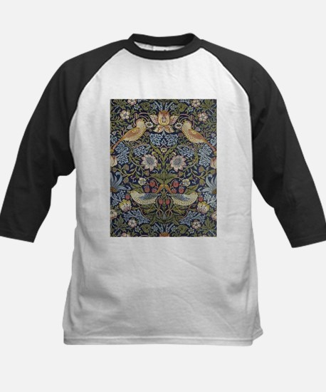 William Morris Strawberry Thief De Baseball Jersey