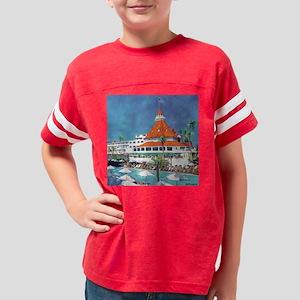 Hotel Del  by Riccoboni SQ Youth Football Shirt