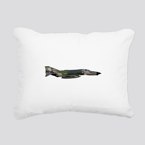F-4 Phantom II Aircraft Rectangular Canvas Pillow