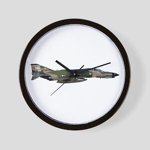 F-4 Phantom II Aircraft Wall Clock