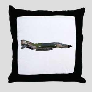 F-4 Phantom II Aircraft Throw Pillow