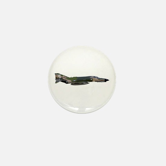 F-4 Phantom II Aircraft Mini Button