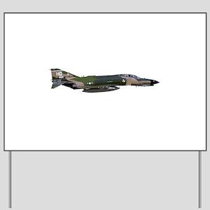 F-4 Phantom II Aircraft Yard Sign
