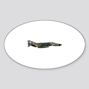 F-4 Phantom II Aircraft Sticker (Oval)