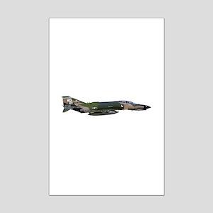F-4 Phantom II Aircraft Mini Poster Print