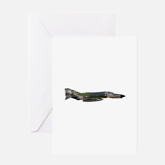 F-4 Phantom II Aircraft Greeting Card
