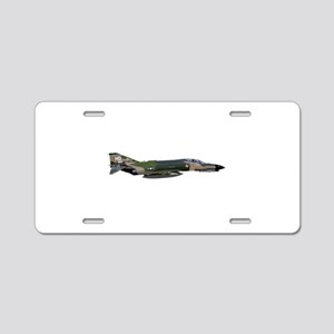 F-4 Phantom II Aircraft Aluminum License Plate