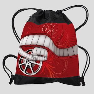 FILM REEL Drawstring Bag