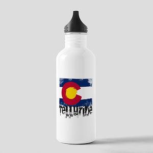 Telluride Grunge Flag Stainless Water Bottle 1.0L