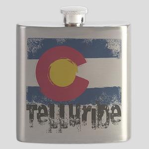 Telluride Grunge Flag Flask