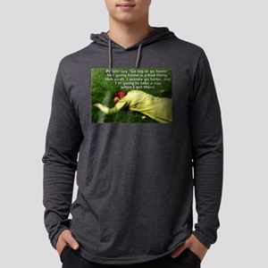 Take a Nap Mens Hooded Shirt