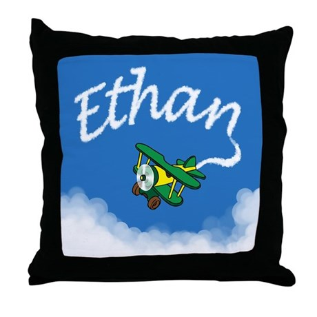 Aviator Ethan Throw Pillow