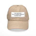 I'm smiling... Cap