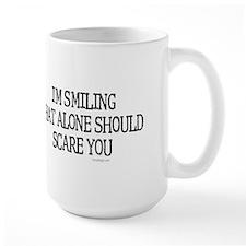 I'm smiling... Large Mug