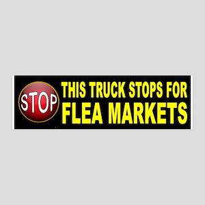 FLEA MARKET BUMPER Wall Decal