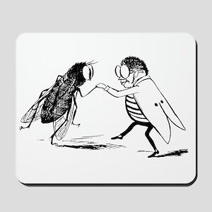 Vintage Dancing Bugs Mousepad