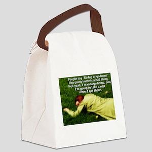 Take a Nap Canvas Lunch Bag