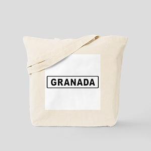 Roadmarker Granada - Spain Tote Bag