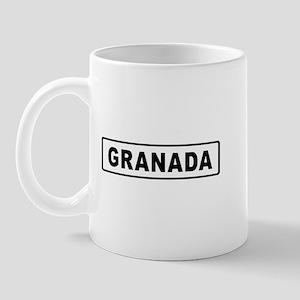 Roadmarker Granada - Spain Mug