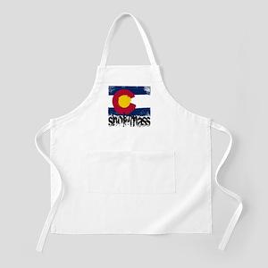 Snowmass Grunge Flag Apron