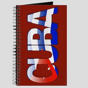 """Cuba Bubble Letters"" Journal"