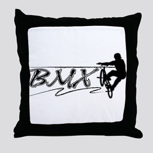 BMX! Throw Pillow