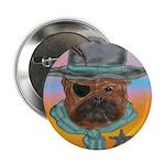 Sherriff bulldog Button