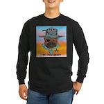 Sherriff bulldog Long Sleeve Dark T-Shirt