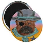 Sherriff bulldog Magnet