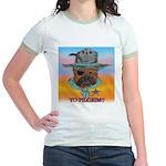 Sherriff bulldog Jr. Ringer T-Shirt