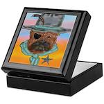 Sherriff bulldog Keepsake Box