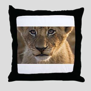 Sparta Lion Cub Throw Pillow