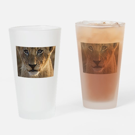 Sparta Lion Cub Drinking Glass