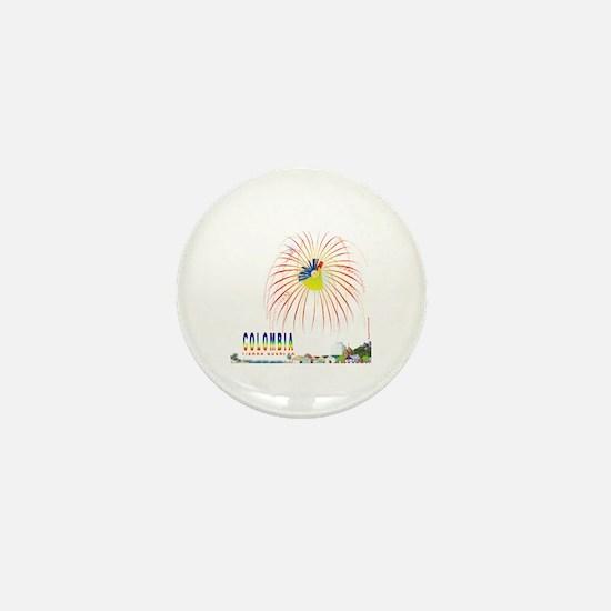 Colombia Tierra querida Mini Button