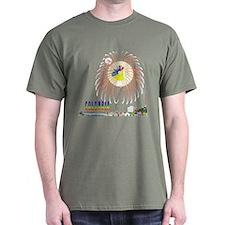 Colombia Tierra querida Dark T-Shirt