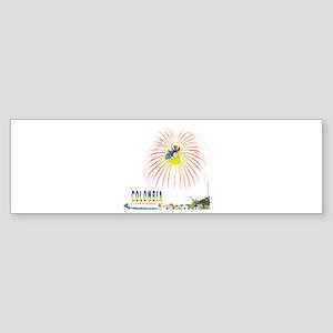 Colombia Tierra querida Bumper Sticker