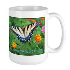 Large Butterfly Mug