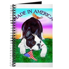 Bowing Boston Terrier Journal