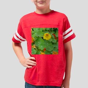 nasturtiumsTILE Youth Football Shirt