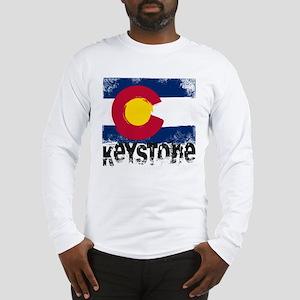 Keystone Grunge Flag Long Sleeve T-Shirt
