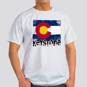 Keystone Grunge Flag Light T-Shirt
