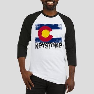 Keystone Grunge Flag Baseball Jersey