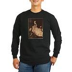 Rackham's Lady and Lion Long Sleeve Dark T-Shirt
