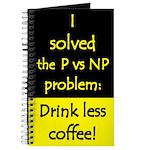 I solved P vs NP! Journal