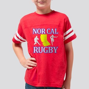 NEW NORCALblack copy Youth Football Shirt