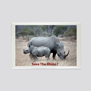 Save The Rhino Magnets